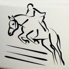 Decal show jumping jump, equestrian sport