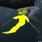 Decal skier forum trolls, extreme winter sports