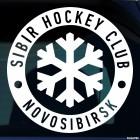 Decal SIBIR Hockey Club Novosibirsk logo with snowflake, winter sports