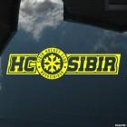 Decal SIBIR Hockey Club Novosibirsk logo snowflake, winter sports