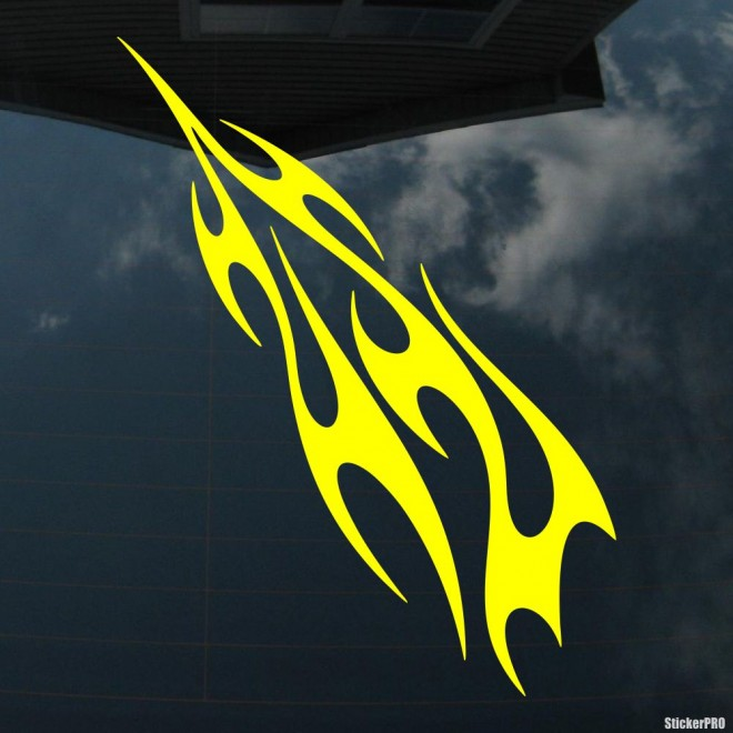 Decal flames 5