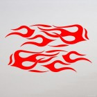 Decal 2 mirrored flames