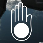 Decal hand Jainism