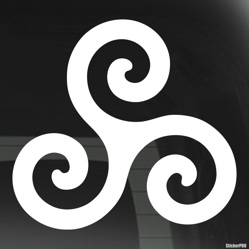 Decal Triskelion Symbol Triple Spiral Celtic Neopaganism Buy