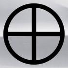 Decal agnostic sun Solar cross