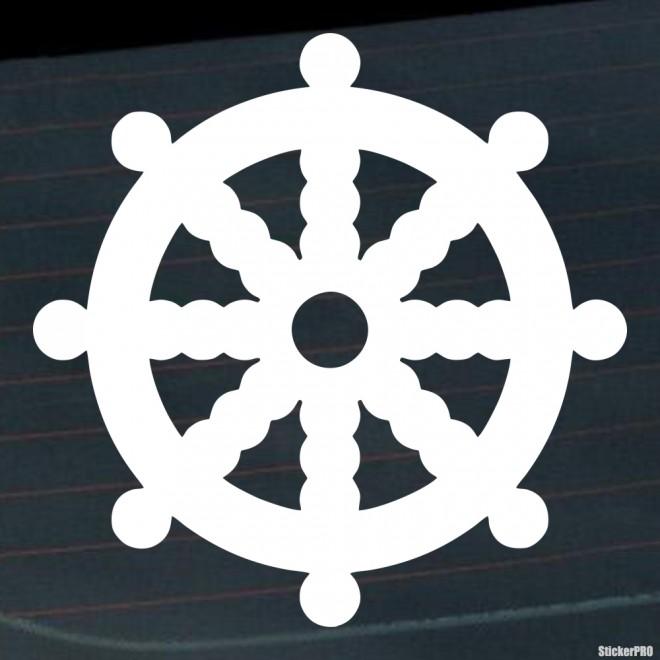 Decal dharmachakra Dharma wheel Buddhism
