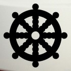 Decal dharmachakra Dharma wheel Buddhism