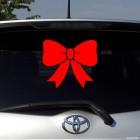 Decal Christmas bow