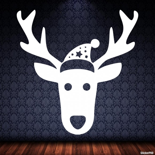 Decal reindeer