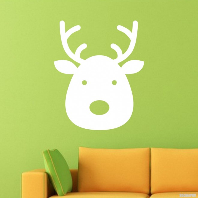 Decal reindeer Noel
