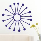 Decal snowflake 6