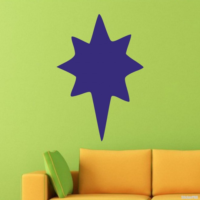 Decal Christmas star