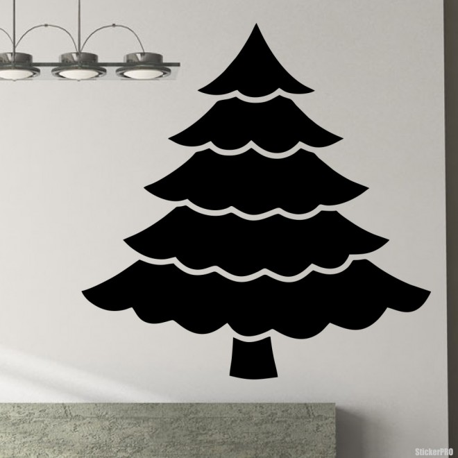 Decal christmas tree 3